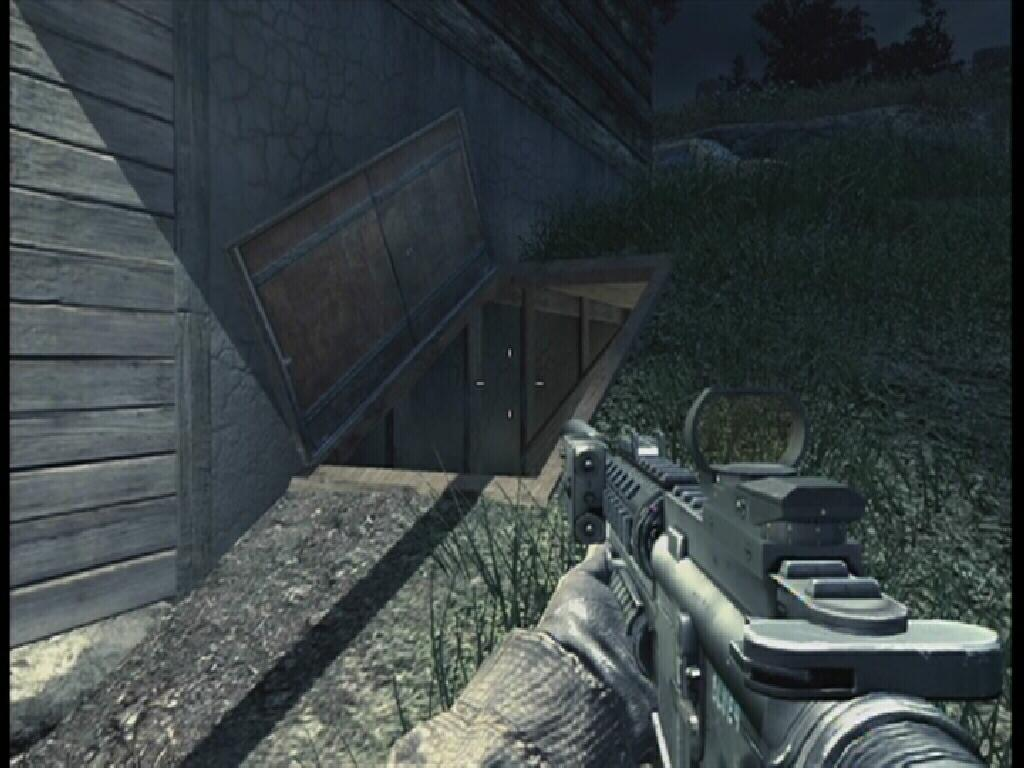 Lighting Basement Washroom Stairs: Call Of Duty 4 Guide