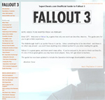 Fallout 3 Guide