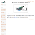 Final Fantasy VII Guide