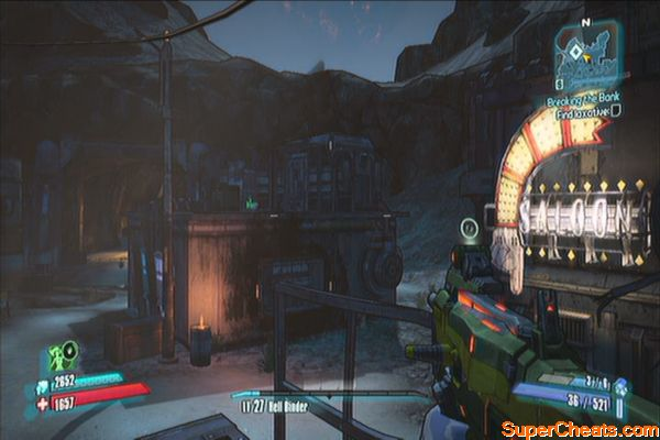 Borderlands  Get Explosives From Mad Dog
