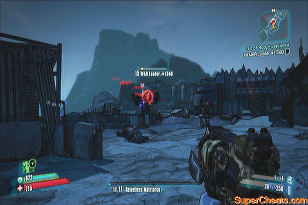 borderlands 2 how to start mission clan war