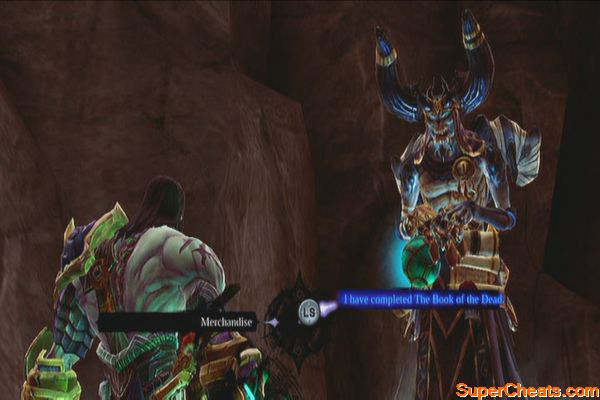 darksiders 2 book of the dead fourth chapter