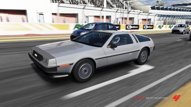An Homage DeLorean DMC12