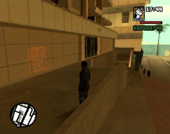 mega cheats resources: Grand Theft Auto: San Andreas - Tag Locations