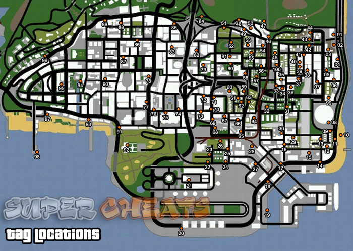 Gta San Andreas Map Locations
