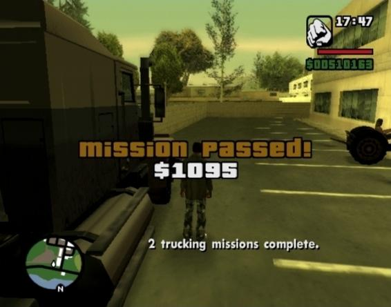 gta san andreas missions cheats to complete