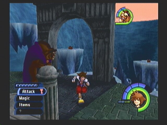 kingdom hearts how to get to hollow bastion second time