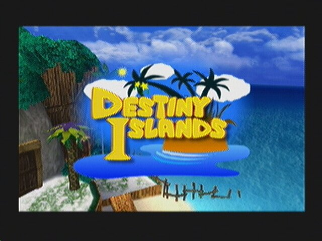 Kingdom Hearts  Destiny Island Fight