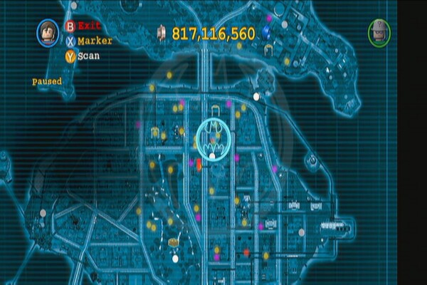 LEGO Batman 2: Red Brick Locations - bermoisong