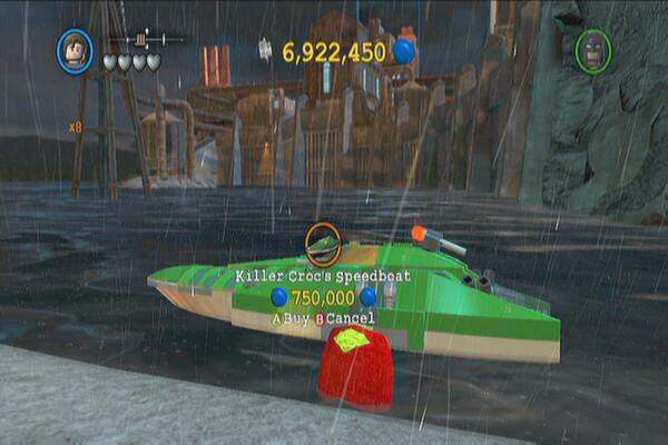 Vehicle Guide - LEGO Batman 2: DC Super Heroes Guide