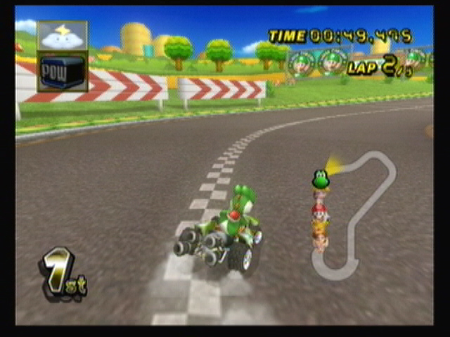 Can you play MARIO KART WII with the gamecube controller?