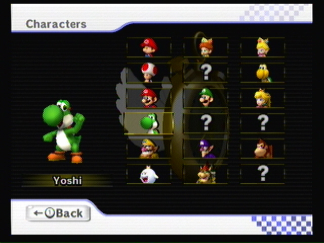 how to unlock all mario kart characters