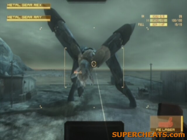 Gear Ray Metal Gear Ray is a Formidable