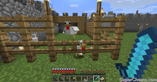 How To Build A Chicken Pen On Minecraft ~ chicken house ...