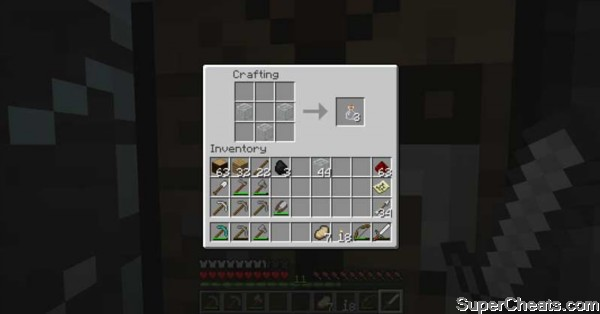 Player-Crafted Items - Minecraft