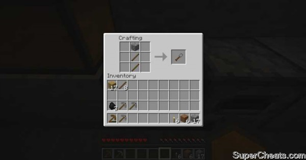 Tool Recipes - Minecraft