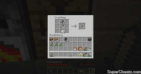 Weapons and Armor Recipes - Minecraft