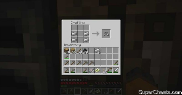 Weapons And Armor Recipes Minecraft