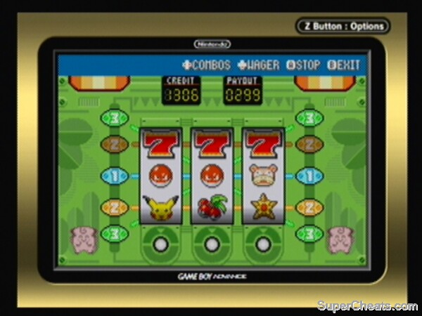 Pokemon slots cheats