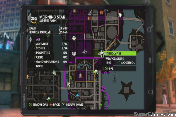 Saints row 2 clothing stores Clothes stores