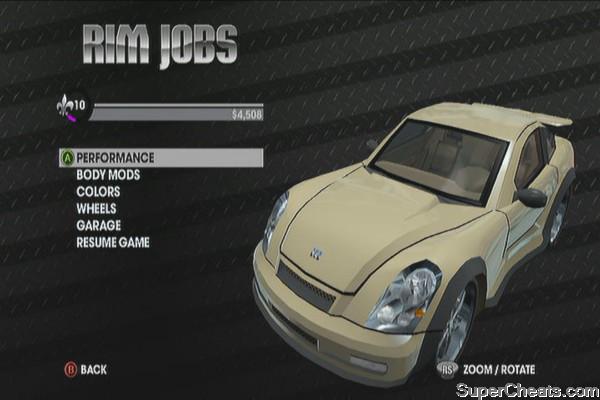 Saints Row  Car List