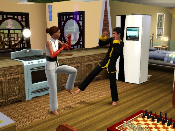 martial arts skill the sims 3 world adventures guide. Black Bedroom Furniture Sets. Home Design Ideas