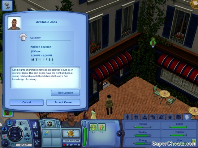 full time jobs the sims 3 guide