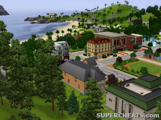 Edit Town - The Sims 3sims town