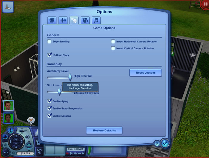 Tips cheats for The Sims 3 on PC