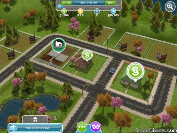 How do you get the baby to use the toilet in sims freeplay apps