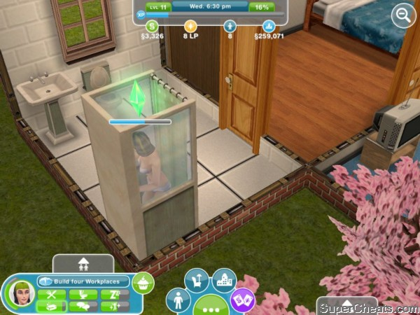 Sims Freeplay Baby Toilet Ipad