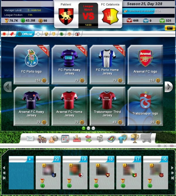 top eleven manager