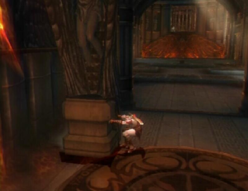 God Of War  Spike Room