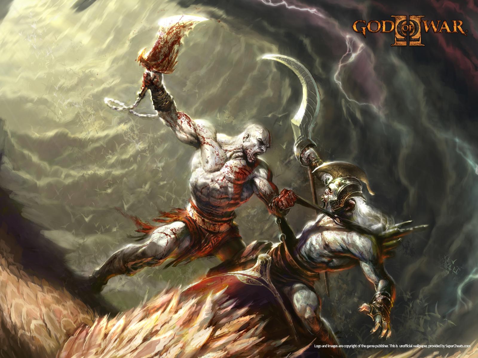 God of War 2 Wallpapers