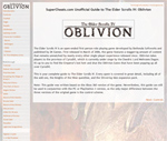 The Elder Scrolls IV: Oblivion Guide