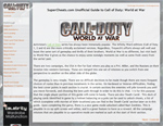 Call of Duty: World at War Guide