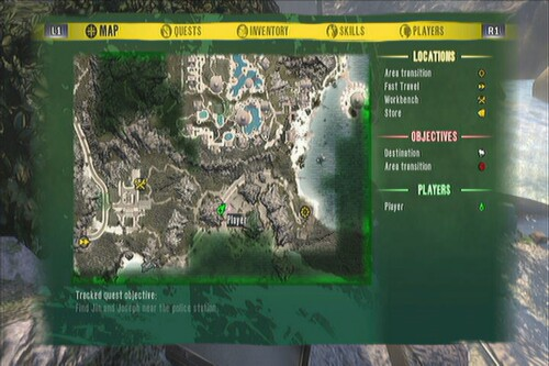 Green Skull Drop Off Location Dead Island