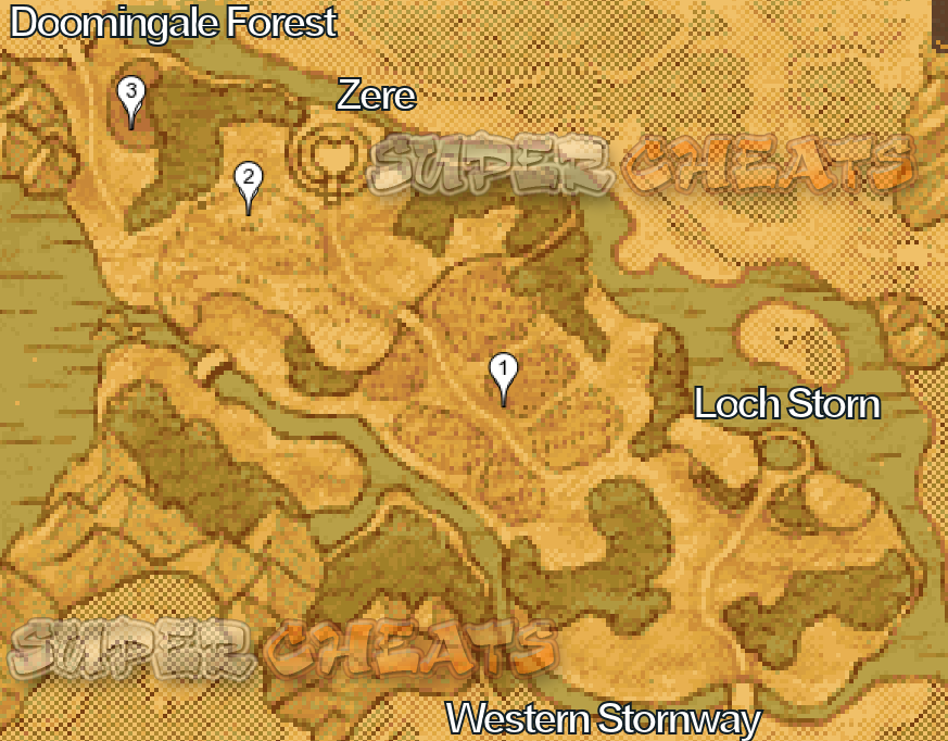 Western Stornway - Dragon Quest IX: Sentinels of the Starry Skies Guide