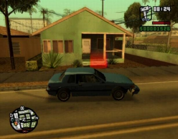 Big smoke 39 s missions grand theft auto san andreas guide for Autosweet housse