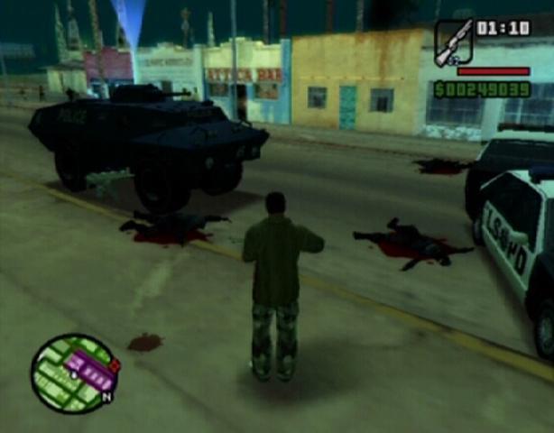 Trucos y Guías Grand Theft Auto: San Andreas