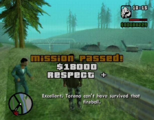 gta san andreas pc mission tree