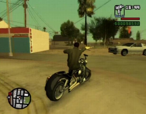 how to start motorscycle missions gta