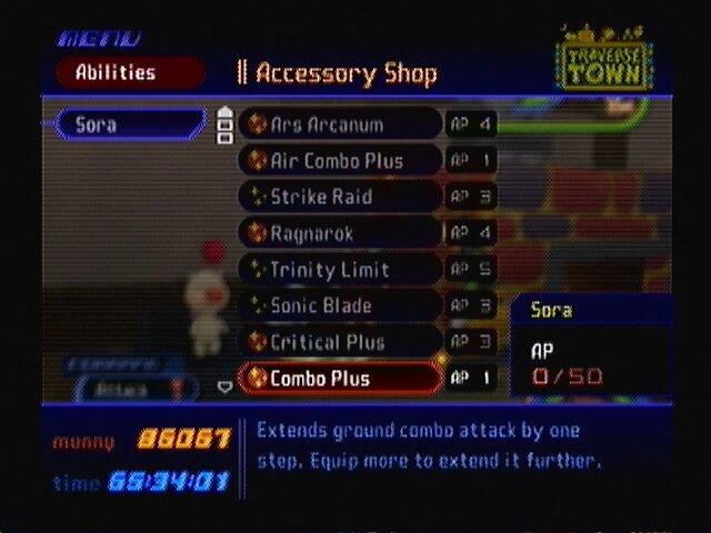 Abilities - Kingdom Hearts Guide