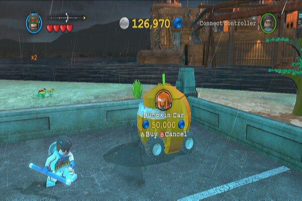 Vehicle Guide - LEGO Batman 2: DC Super Heroes Guide