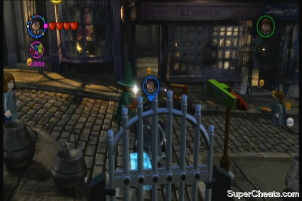 Knockturn Alley Lego Harry Potter Years 1 4 Guide