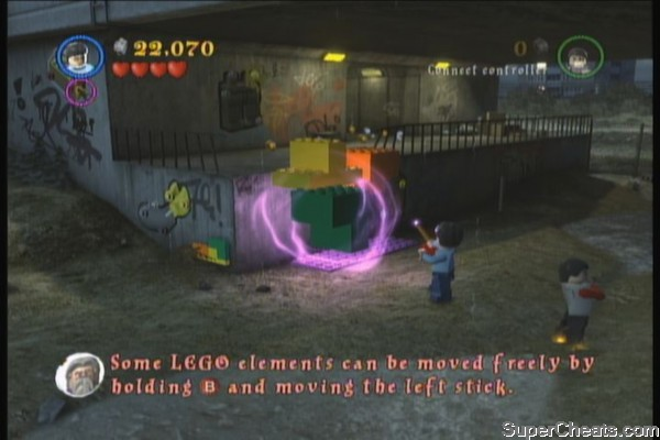 lego harry potter wii 5-7 walkthrough