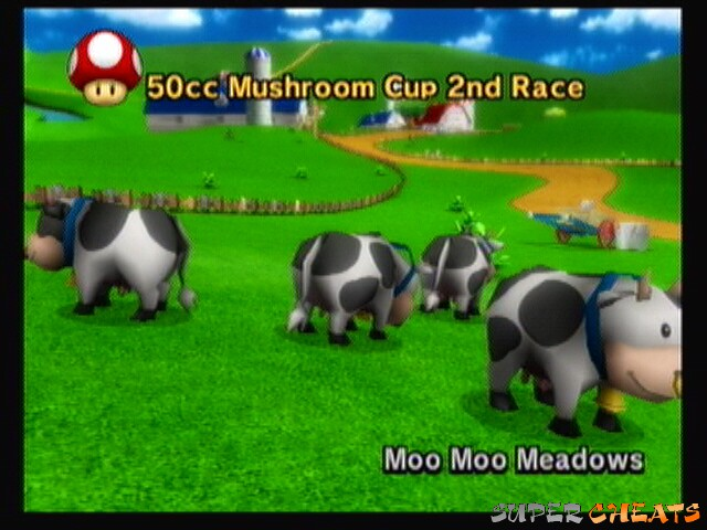 Custom Card Template www.moo.com : Moo Moo Meadows (MC) - Mario Kart Wii