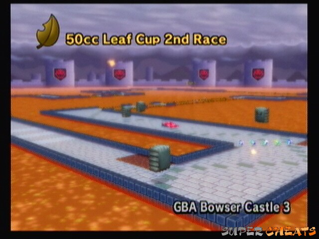 Track Thursday Mario Kart Wii Gba Bowser Castle 3