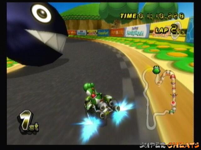 Chain Chomp Mario Kart 8