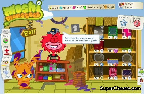 Destinations In The World Of Moshi Monsters Moshi Monsters Guide And Walkthrough